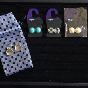 Magnabilities Earrings and Three Inserts